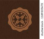 crossed bandage plaster icon... | Shutterstock .eps vector #1189335670
