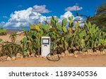 old gas pump in the namib... | Shutterstock . vector #1189340536