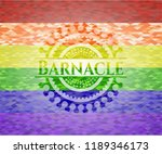 barnacle on mosaic background... | Shutterstock .eps vector #1189346173