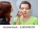 professional visage artist...   Shutterstock . vector #1189348150