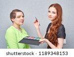professional visage artist...   Shutterstock . vector #1189348153