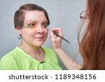 professional visage artist...   Shutterstock . vector #1189348156