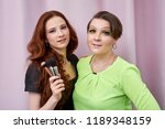 professional visage artist...   Shutterstock . vector #1189348159