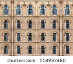 wall of building from jerusalem ... | Shutterstock . vector #118937680