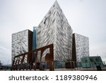 belfast  northern ireland ... | Shutterstock . vector #1189380946