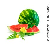 fresh  nutritious and tasty... | Shutterstock .eps vector #1189393540