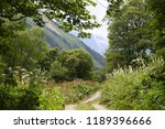 stony road in the mountains | Shutterstock . vector #1189396666