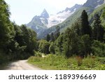 stony road in the mountains | Shutterstock . vector #1189396669
