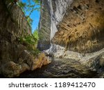 river in a wild gorge. cheile... | Shutterstock . vector #1189412470