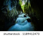 river in a wild gorge. cheile... | Shutterstock . vector #1189412473