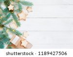 light composition with gift... | Shutterstock . vector #1189427506