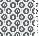 seamless pattern with abstract... | Shutterstock .eps vector #1189431109