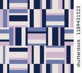 seamless geometric retro... | Shutterstock .eps vector #1189431523