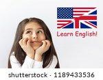 learn english language.... | Shutterstock . vector #1189433536