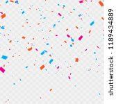 celebration background template ... | Shutterstock .eps vector #1189434889
