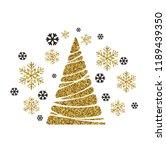 vector illustration gold... | Shutterstock .eps vector #1189439350