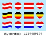 austria  germany  the... | Shutterstock .eps vector #1189459879