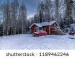 Snowy Winter Landscape With A...