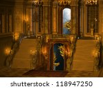 palace stair interior | Shutterstock . vector #118947250