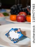 banquet cards for seating... | Shutterstock . vector #1189477483