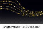 new year vector background with ... | Shutterstock .eps vector #1189485580