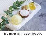 natural ingredients homemade... | Shutterstock . vector #1189491070