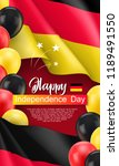 happy germany independence day... | Shutterstock .eps vector #1189491550