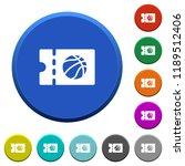 basketball discount coupon...   Shutterstock .eps vector #1189512406
