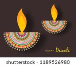creative greeting card design... | Shutterstock .eps vector #1189526980