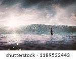 Girl Surf Board Wait Big - Fine Art prints