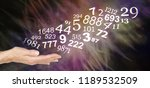 consult a numerologist and... | Shutterstock . vector #1189532509