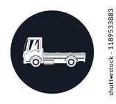 mini truck without cargo icon   ... | Shutterstock . vector #1189533883