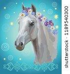 vector colorful illustration.... | Shutterstock .eps vector #1189540300