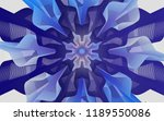 blending abstract flower   Shutterstock . vector #1189550086