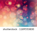 vector soft blurred colored... | Shutterstock .eps vector #1189553830