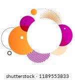 colorful geometric background.... | Shutterstock .eps vector #1189553833