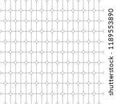line vector round rectangle... | Shutterstock .eps vector #1189553890