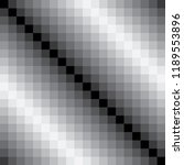 8 bit black and white color... | Shutterstock .eps vector #1189553896