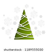 vector illustration christmas... | Shutterstock .eps vector #1189555030