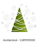 vector illustration christmas... | Shutterstock .eps vector #1189555030