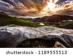 melting snow near california... | Shutterstock . vector #1189555513