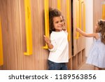 happy multicultural kids... | Shutterstock . vector #1189563856