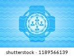 business teamwork and money... | Shutterstock .eps vector #1189566139