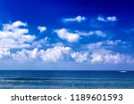 nature background. the sea with ...   Shutterstock . vector #1189601593