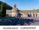 the famous abbaye notre dame de ... | Shutterstock . vector #1189609909