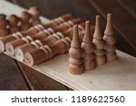 shelf wall disassembled.... | Shutterstock . vector #1189622560