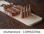 shelf wall disassembled.... | Shutterstock . vector #1189622566