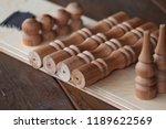 shelf wall disassembled.... | Shutterstock . vector #1189622569