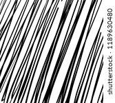 hand drawn black grunge... | Shutterstock .eps vector #1189630480