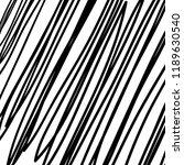 hand drawn black grunge... | Shutterstock .eps vector #1189630540